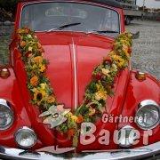 Hochzeitsschmuck VW-Käfer