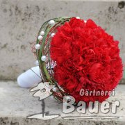 Brautstrauß rote Nelken